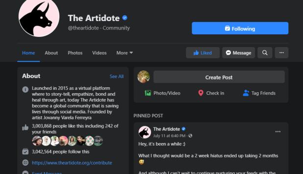 the artidote
